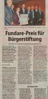Fundare Preis  (Stadtspiegel)