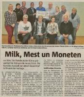 Milk, Mest un Moneten ( Halterner Zeitung)