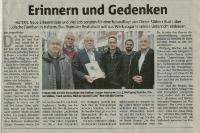 Erinnern und Gedenken ( Ruhr Nachrichten)