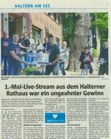 1. Mai Live Stream - Halterner Zeitung im Mai 2020