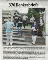 Bürgerstiftung übergibt 370 Dankesbriefe - Stadtspiegel im Juli 2020 -