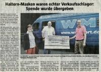 Haltern-Masken - Halterner Zeitung im Juni 2020 -